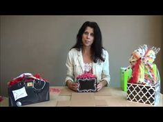 Learn how to fold gift basket boxes from Nashville Wraps! #giftbasketideas #giftbasketboxes