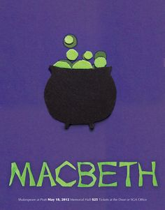 Macbeth. Shakespeare Posters by Mary Dean
