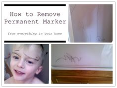 How to remove PERMANENT MARKER from EVERYTHING in your home!