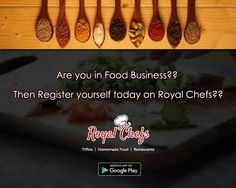 Home Chefs, Expand Your business. Register Yourself On @Royal Chefs.Same platform for Tiffin, Home Chefs and Restaurants. Download The App Now https://goo.gl7zgs0I #Delhi #Newdelhi #Pune #Rohini #Pitampura