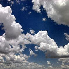 Nuvens Cumulus numa Tarde de 2013