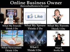 My life as an online business owner