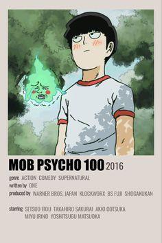 Animes To Watch, Animes On, Anime Watch, Poster Anime, Anime Cover Photo, Mob Psycho 100 Anime, Gato Anime, Anime Suggestions, Anime Titles