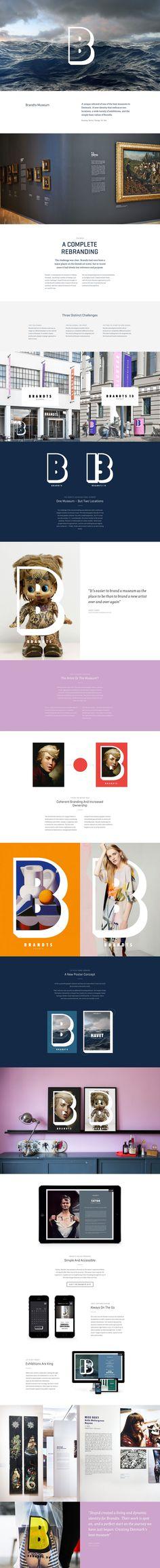 Brandts Museum rebranding by Bjarne Christensen and Stupid Studio on Behance