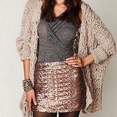 Sparkly skirt (: