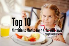 Top 10 Nutritious Meals Your Kids Will Love Real Food Recipes, Cooking Recipes, Super Mom, Kid Friendly Meals, Nutritious Meals, Allrecipes, Kids Meals, Meal Planning, Dinner Recipes