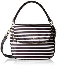 f67786fbd0a4 kate spade new york Classic Nylon Small Devin Shoulder Bag