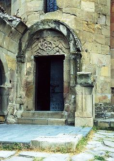 Doorway, Jvari Monastery Church, Mtshketa, Georgia by David, via Flickr