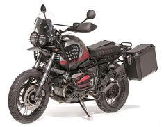 2001 R1150GS by @capelosgarage featured on @bikeshedmc. #r1150gs #bmw #scrambler #advbike