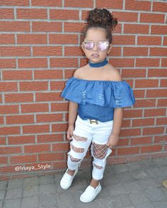 "1,002 Me gusta, 70 comentarios - Princess Inaya (@inaya_style) en Instagram: ""Hello Ig …"" Cute Little Girls Outfits, Little Kid Fashion, Cute Kids Fashion, Kids Outfits Girls, Baby Girl Fashion, Toddler Fashion, Toddler Outfits, Stylish Kids, Cute Baby Clothes"