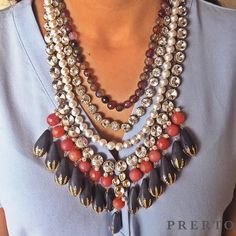 NEW IN  Introducing our newest addition - The Amani Necklace! The perfect necklace for every occasion!!  #Love #Fashion #Jewelry #StatementJewelry #Prerto #ShopNow #ShopOnline #NewIn