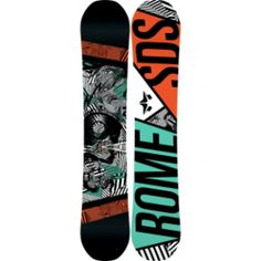 Rome Reverb Rocker Snowboard,Snowboard > Snowboards > Freestyle Snowboards,Rome,Shop @ OutdoorSporting.com