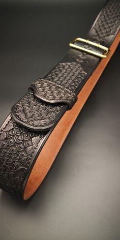 En daim et cuir Double outil Roll 10 Pouch Holder Réglable Boucle de ceinture