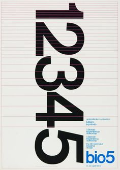 The MoMA included nine posters of Biennial of Industrial Design (Ljubljana, Yugoslavia) to its study collection