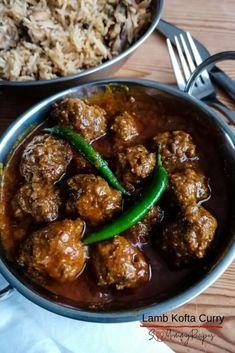 Curry Recipes, Beef Recipes, Chicken Recipes, Healthy Recipes, Savoury Recipes, Pakistani Kofta Recipe, Pakistani Recipes, Ground Lamb Recipes, Kitchens
