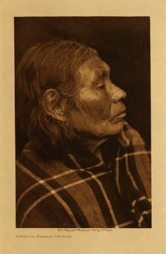 American Indians : Chinook Female Profile.