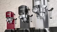 Dedica de DeLonghi, cafeteras para los más sibaritas del café
