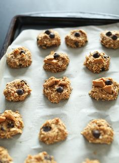 Vegan Peanut Butter Chocolate Chip Cookies   Minimalist Baker Recipes