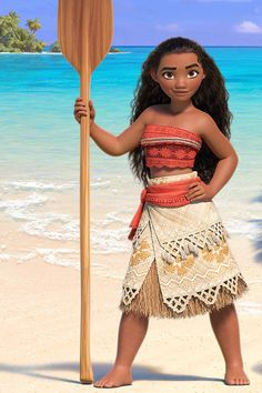 Sneak Peek video of Moana, Disney's newest princess