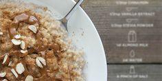 Mingau de painço (ou mileto, ou milho-miúdo), em receita macrobiótica, para um nutritivo e saudável café da manhã.