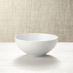 Bowls: Dessert, Salad, Serving, Cereal & Soup Bowls | Crate and Barrel
