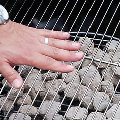 Guide to Grilling Basics  | Judging Temperature of Coals With Your Hand | MyRecipes.com