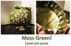 Moss Green! Coin Purses, Lunch Box, Green, Collection, Coin Wallet, Coin Purse, Bento Box
