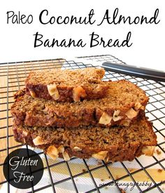 paleo coconut almond banana bread!! (Aka another thing to make French toast out of.)