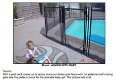 safety pool fencing