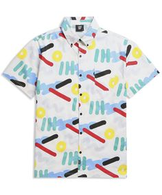 Lazy Oaf Squiggles Short Sleeve Shirt