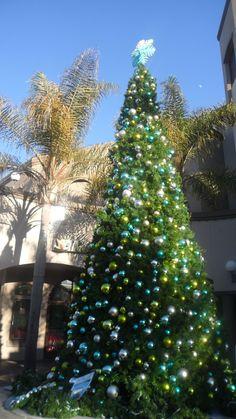 Downtown Huntington Beach Christmas tree