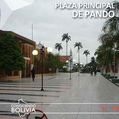 Conosca la plaza principal de Cobija, haga click en la imagen para saber mas