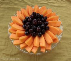 Centrotavola di frutta VisualFood | Flickr - Photo Sharing!