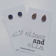 Sparkle sparkle! Two brand new styles of E&E City Studs are now in stock at both locations!