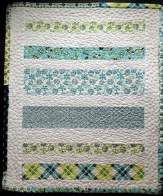Quick and simple baby quilt