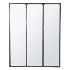 Miroir maison du monde sur pinterest for Miroir cargo maison du monde