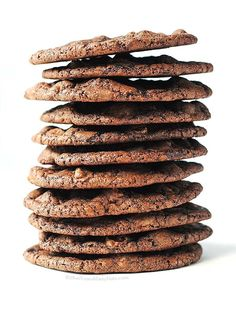 The best Double Dark Chocolate Cookies Recipe