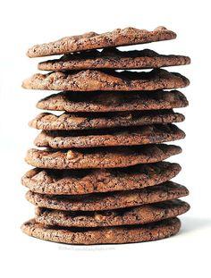 The best Double Dark Chocolate Cookies Recipe
