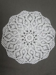 Ravelry: Chartres Cathedral Doily pattern by Chinami Horiba Free Doily Patterns, Crochet Ideas, Crochet Dollies, Doilies, Crochet Stitches, Ravelry, Stained Glass, Cathedral, Manualidades