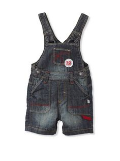76% OFF KANZ Baby Short Overalls (Denim)