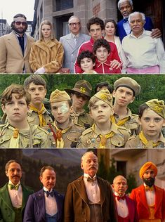 Wes Anderson | In Wes Anderson's world, what people wear speaks volumes about their internal life — so much so that they rarely change their...