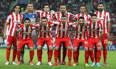 Olympiakos - Montpelier: 3-1 Red Leather, Leather Jacket, Ronald Mcdonald, Football, Sports, Jackets, Tops, History, Fashion