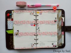 The week nr. 29 - pink & cats #planner