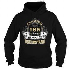 I Love YON YONYEAR YONBIRTHDAY YONHOODIE YONNAME YONHOODIES  TSHIRT FOR YOU T-Shirts