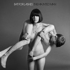 The Haunted man album cover by Bat for Lashes.  Easily one of the most powerful female portraits I've ever seen. LOVE