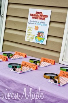 Scooby Doo themed games! - Theme your next family movie night with this tip from Southern Outdoor Cinema