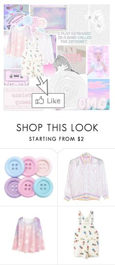 """""""Untitled #34"""" by xxhollyisntaestheticxx ❤ liked on Polyvore featuring Pointer, WithChic, STELLA McCARTNEY, cute, Pink, kawaii, aesthetic and pinkaesthetic"""