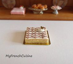 Traditional french Mille feuille  Handmade by MyFrenchCuisine