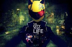 Imagem de anime, durarara, and city
