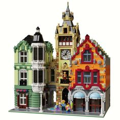 Clock Tower Square LEGO Modular Clock Tower Square - building instructions and parts list.LEGO Modular Clock Tower Square - building instructions and parts list. Lego Minecraft, Lego Moc, Minecraft Skins, Pokemon, Pikachu, Lego Modular, Lego Design, Lego Batman, Chateau Lego